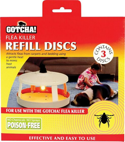 Flea Killer Refill Discs (3-Pack)