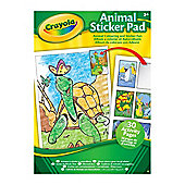Crayola Animal Sticker Pad