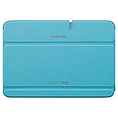 "Samsung Leather Effect Flip Cover Case for Samsung Galaxy Note 10.1"" Blue"