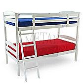 MetalBedsLtd Moderna Bunk Bed - White