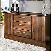 Welcome Furniture Living Room 2 Door / 3 Drawer Unit - Noche