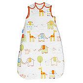 Grobag Baby Sleeping Bag - Hippo Friends 2.5 Tog (6-18 Months)