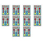 10 Sets of Retro Egg & Spoon Race Sets