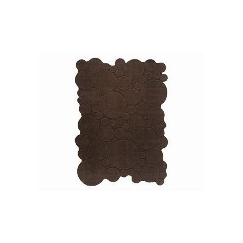 Esprit Circle Brown Contemporary Rug - 70cm x 140cm