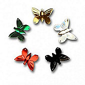 Butterfly Seq 25mm 2gms assorted
