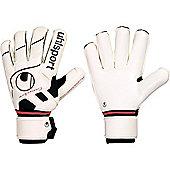 Uhlsport Pro Comfort Rollfinger Goalkeeper Gloves Size - White