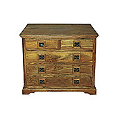 Elements Jaitu Block 5 Drawer Chest