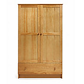 OBaby Double Wardrobe - Country Pine