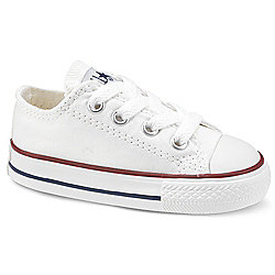Converse Chuck Taylor All Star Ox (Infant) Kids Trainer - White - 7