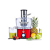 Andrew James Compact Integrated Whole Fruit Juicer in Red
