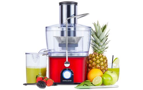 Tesco Direct Slow Juicer : Buy Andrew James Compact Integrated Whole Fruit Juicer in Red from our Juicers range - Tesco