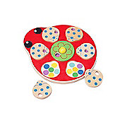 Tidlo Touch And Match Wooden Kids Puzzle (5 Pieces)