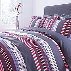 Eliane Stripe Double Duvet Cover