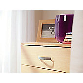 Ideal Furniture Budapest 5 Drawer Tall chest - White
