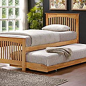 Toronto Trundle Bed - Oak