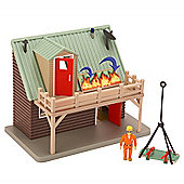 Fireman Sam Adventure Playset with Figure - Mountain Lodge