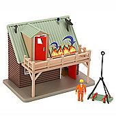 Fireman Sam Adventure Playset with Figure - Mountain Lodge