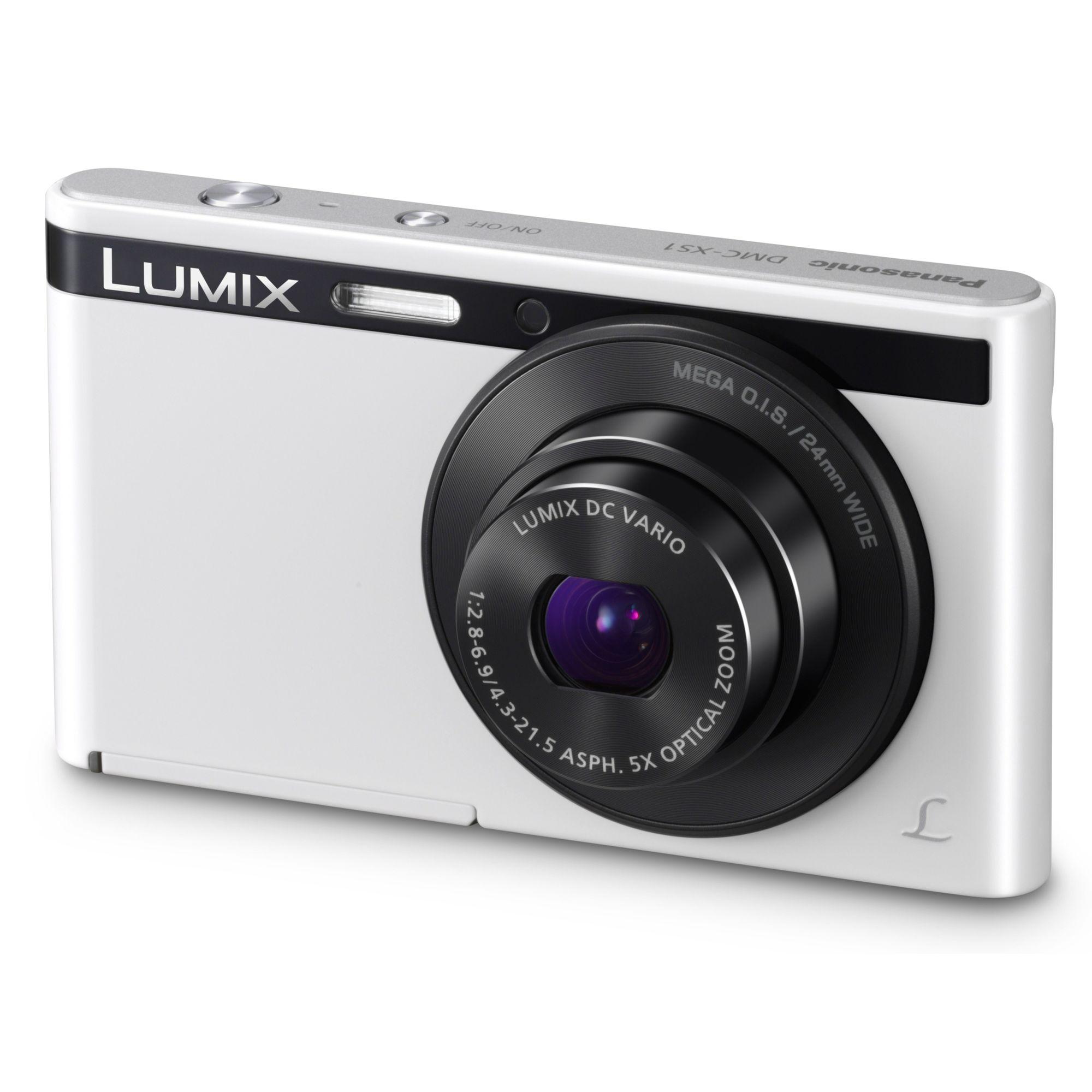 Panasonic Lumix XS1 Digital Camera (White)