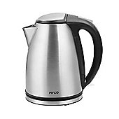 Pifco - 3kW 1.6L Brushed Stainless Steel Kettle