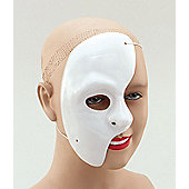 Phantom of the Opera 1/2 mask (Pkt 12/ Box 12dz)