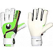 Uhlsport Fangmaschine Soft Hn Goalkeeper Gloves Size - White