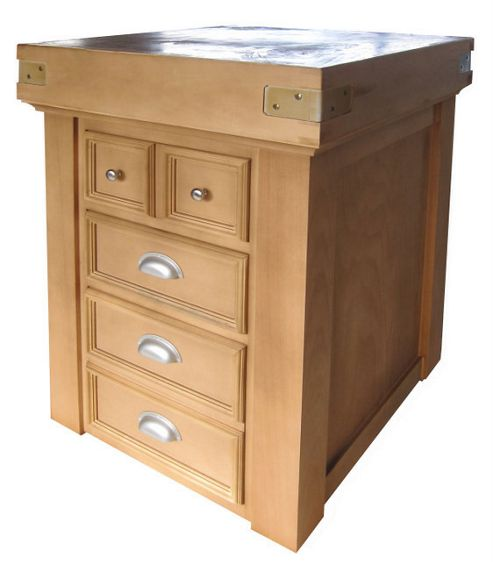 Chabret Traditional Drawers Block - 105cm X 60cm X 60cm
