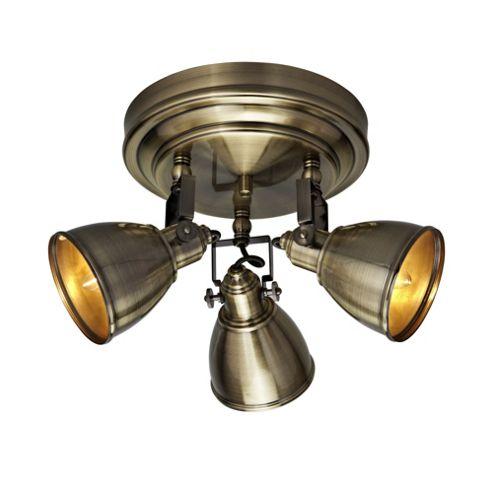 Mark Slojd Fjallbacka 3 Light Spotlight - Antique