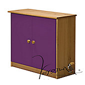 Verona Ribera Cupboard - Antique / Lilac
