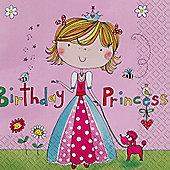 Princess Party - 3ply 33cm Paper Party Napkins
