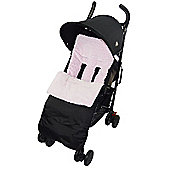 Marshmallow Super Soft Footmuff To Fit Maclaren Cosy Toes Buggy Pushchair - Pink
