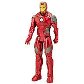 Marvel Avengers Titan Hero Series Battle Suit Iron Man Figure