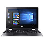 Acer R3, 11.6-inch Touchscreen 2-in-1 Laptop, Intel Celeron, Windows 10, 4GB RAM,32GB - White