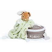 Kaloo Plume Doudou Baby Comforter (Green Rabbit)