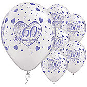 11' 60th Anniversary Little Hearts (6pk)