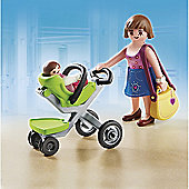 Playmobil - Mother with Infant Stroller 5491