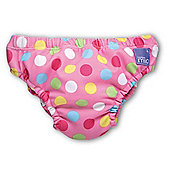 Bambino Mio Swim Nappy - Extra Large Pink Spots 12-15kg