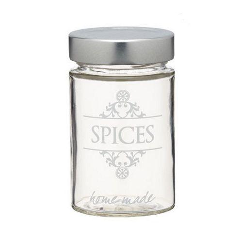 Home made Glass Spice Jar