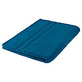 Tesco 100% Combed Cotton Bath Sheet Teal