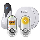 BabySense 5 Breathing Monitor and Motorola MBP16