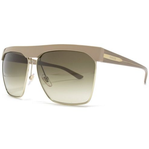 Gucci Sunglasses Visor in Beige.
