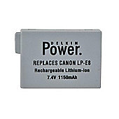 Delkin Canon LPE8 Rechargeable Lithium-Ion Battery