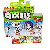 Qixels The Cubes That Join With Water Refill Pack - Skeleton Army