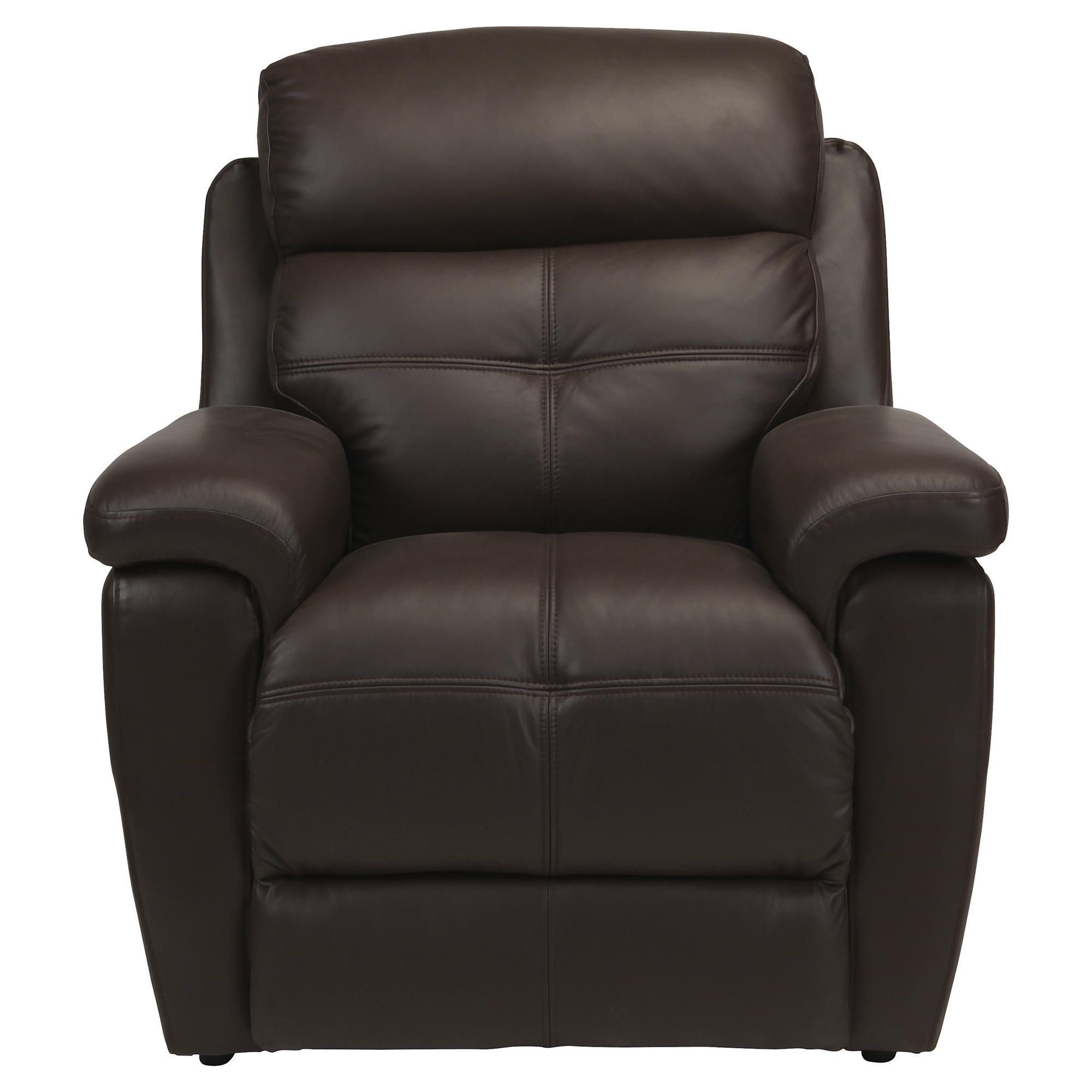 Leather Power Lift Recliner Chair Brown at Tesco Direct