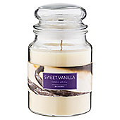 Tesco Jar Candle, Sweet Vanilla