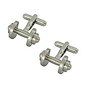 Dumbells Novelty Themed Cufflinks