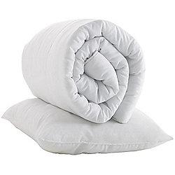Junior Sized Duvet Insert and Pillow Insert - 9.0 Tog