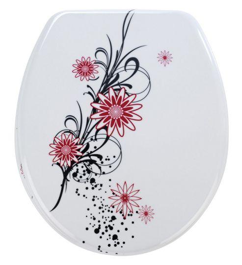Wenko Belle Fleur Toilet Seat