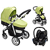 Mee-Go Pramette Maxi Cosi Travel System - Green