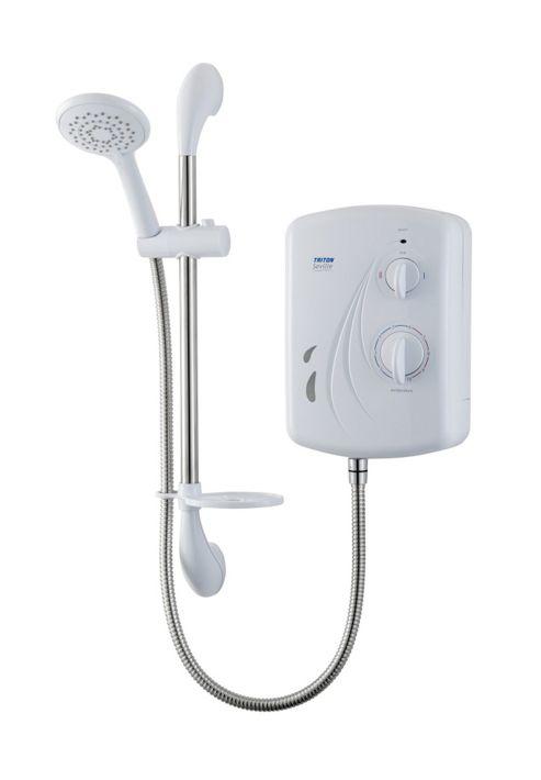 Triton Showers Perea 20.5 cm x 9.4 cm Electric Shower - 8.5 KW
