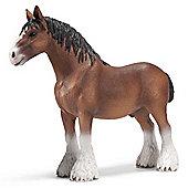 Schleich Horse Clydesdale stallion